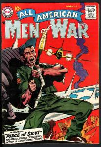 ALL AMERICAN MEN OF WAR #58-1958-WWII-DC-SILVER AGE-HIGH GRADE