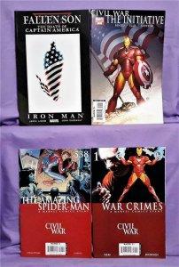Avengers Marvel CIVIL WAR Tie-In Comics 4-Pack Iron-Man (Marvel, 2007)!
