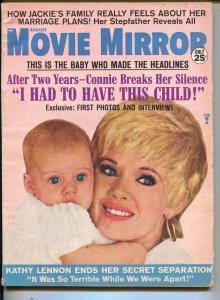 Movie Mirror-Patty Duke-Robert Mitchum-Marlon Brando-Aug-1968