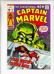 Captain Marvel #19 (Dec-69) VF/NM High-Grade Captain Marvel