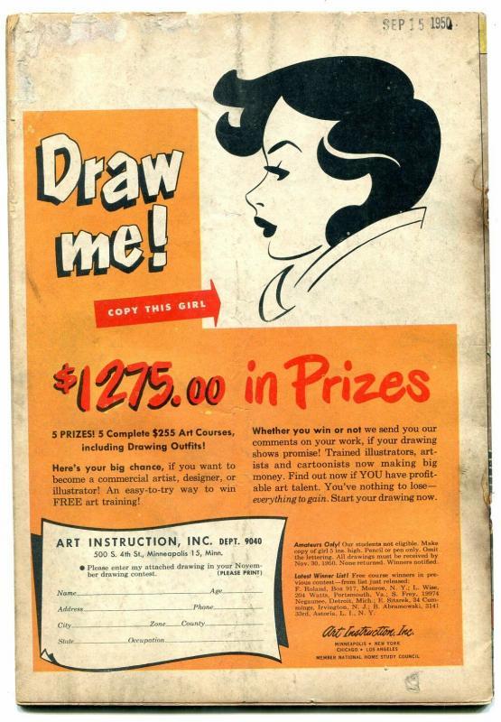 Romantic Adventures #11 1950- Men You Shouldn't Marry- Golden Age G