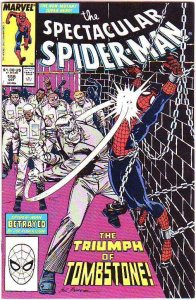 Spider-Man, Peter Parker Spectacular #155 (Oct-89) VF/NM High-Grade Spider-Man