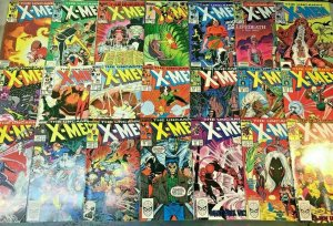 UNCANNY X-MEN#174-390 VG-VF LOT (34 BOOKS) 1985  MARVEL COMICS