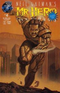 Neil Gaiman's Mr. Hero - The Newmatic Man (1995 series) #4, NM- (Stock p...
