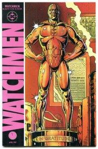 WATCHMEN #8 1987-DAVID GIBBONS-ALAN MOORE-DC COMICS vf/nm