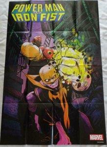 POWER MAN AND IRON FIST Promo Poster, 24 x 36, 2016, MARVEL,  Unused 174