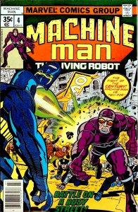 Machine Man #4 (1978)