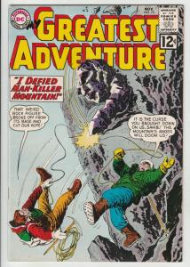 My Greatest Adventure #73 (Nov-62) NM- High-Grade