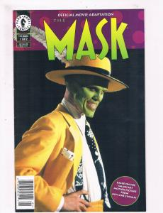 The Mask Complete Dark Horse Comics Limited Series # 1 2 Movie Adaptation S62