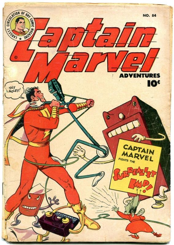 Captain Marvel Adventures #84 1948- Canadian edition- Golden Age G-