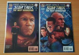 Star Trek The Next Generation / Deep Space Nine 1-2 Complete Set Run! ~ NM ~