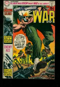 STAR SPANGLED WAR STORIES #152 1970 DC ENEMY ACE STORY FN