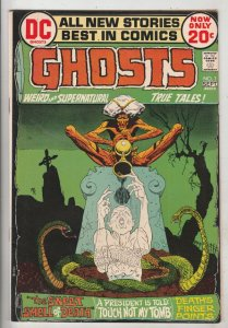 Ghosts #7 (Sep-72) FN/VF Mid-High-Grade