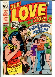 Our Love Story #9 1970-Marvel-John Buscema-Dick Ayers-VF