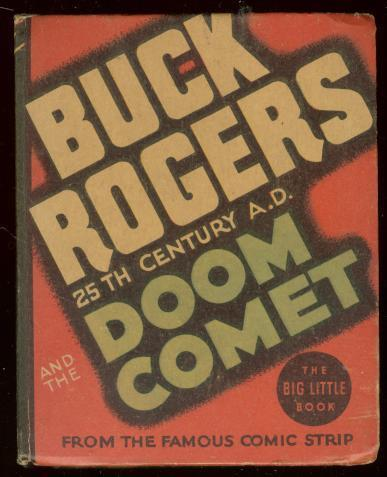 BUCK ROGERS #1178-BIG LITTLE BOOK-DOOM COMET-CALKINS'35 VF