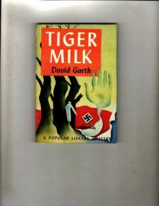 5 Pocket Books Tiger Milk, Mother Finds Body, Time To Die, Third Eye, Duke JL35