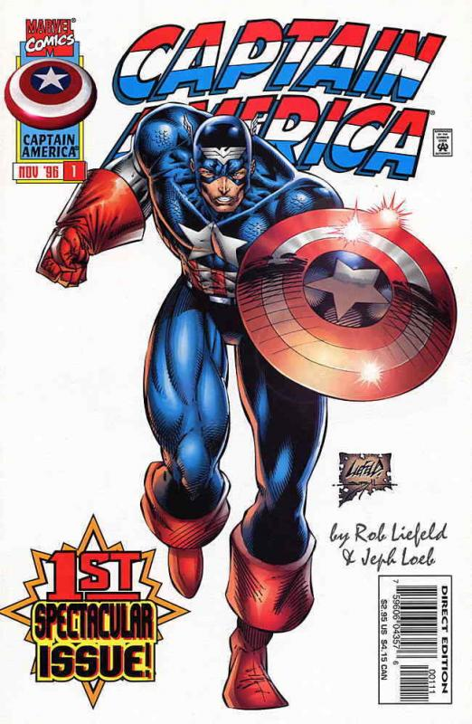 Captain America (2nd Series) #1 VF/NM; Marvel | save on shipping - details insid