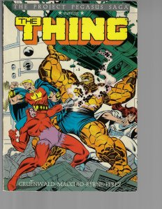 The Thing: Project Pegasus (Marvel, 1988)