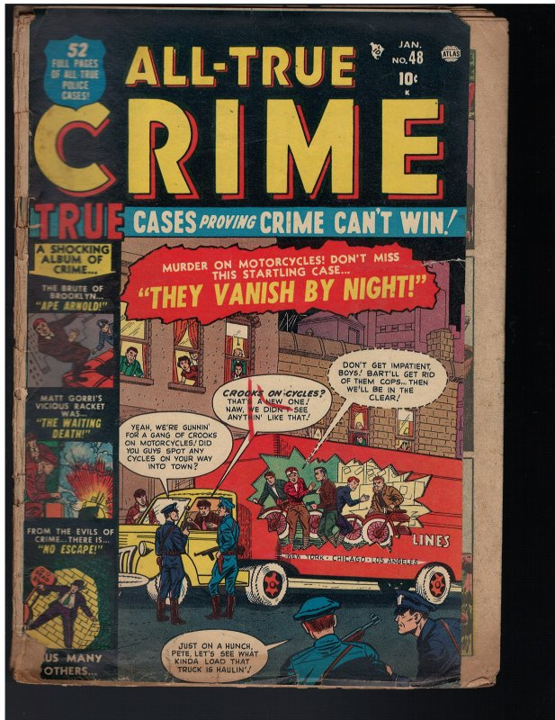 All-True Crime #48 (1952)