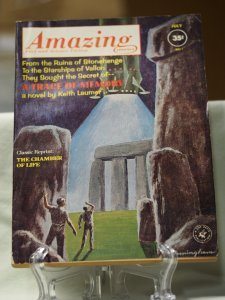 Amazing Stories Fact and Science Fiction July 1962. volume 36 #7