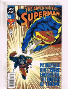 Lot of 5 The Adventures of Superman DC Comic Books #506 507 508 509 510 BH45