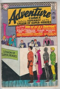 Adventure Comics #346 (Jul-67) VG/FN Mid-Grade Legion of Super-Heroes, Superboy