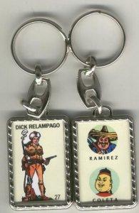 Llaveros comic español: Dick Relampago