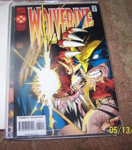 WOLVERINE #89 1995 sabertooth  mask of ogun  X-MEN  LOGAN GHOST RIDER