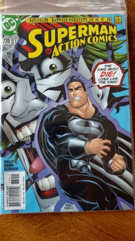 Action Comics #770 (DC, 2000) Condition: NM/MT
