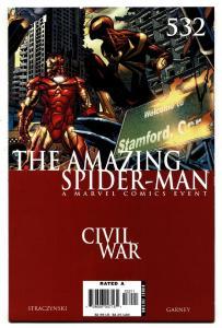 AMAZING SPIDER-MAN #532  comic book-Civil War avengers movie MCU