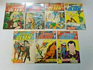 Bronze Age Jimmy Olsen Comic Lot From #151-163 13 Different Avg 6.0 FN (1972-74)