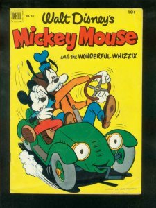 MICKEY MOUSE & WONDERFUL WHIZZIX-FOUR COLOR #427 1952 VG