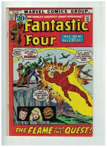 FANTASTIC FOUR 117 VG+ Dec. 1971