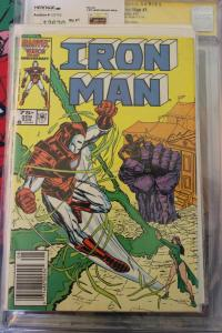 Iron Man 209  NM-