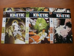 3 Near-Mint DC Focus KINETIC Comic #2 3 5 (2004) Puckett Pleece