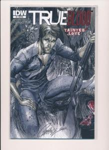 TRUE BLOOD Tainted Love #4, Variant Cover RIA ~2011~ IDW Comics ~ NM (HX374)