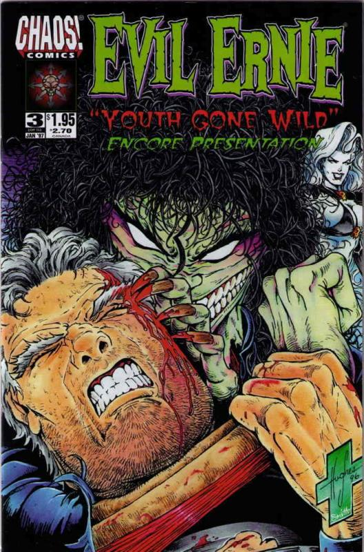 Evil Ernie: Youth Gone Wild #3 FN; Chaos | save on shipping - details inside