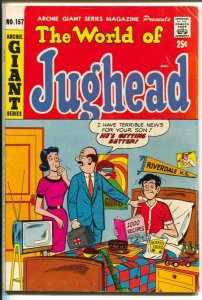 Archie Giant Series #157 1968-World of Jughead-Betty and Veronica -VG