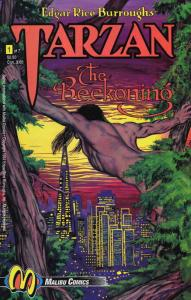 Tarzan: The Beckoning #1 VF/NM; Malibu | save on shipping - details inside