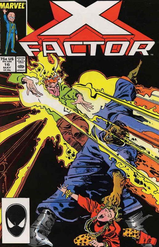 X-Factor #16 FN; Marvel | save on shipping - details inside
