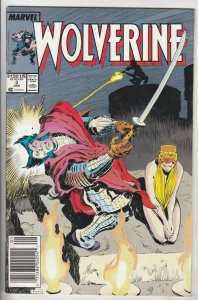 Wolverine #3 (Jan-89) NM/NM- High-Grade Wolverine