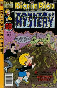 Richie Rich Vaults of Mystery #26 VF/NM; Harvey | save on shipping - details ins