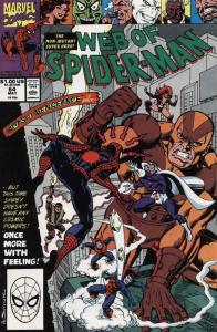 Web of Spider-Man, The #64 FN; Marvel | save on shipping - details inside