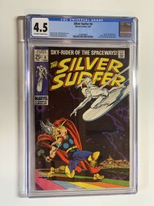 Silver Surfer 4 Cgc 4.5 Ow/w Pages silver Age Marvel