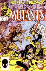 New Mutants (1983 series) #59, NM- (Stock photo)