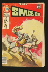 Charlton Comics Space 1999 Vol 2 No 2 January 1976 see condition note
