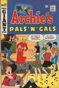 Archie's Pals 'N' Gals #37, Fair (Stock photo)