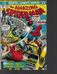 Amazing Spider-man #125 (Marvel, 1973) - Man-Wolf Origin