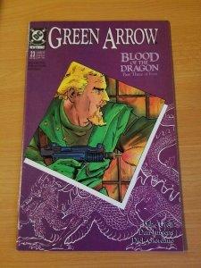 Green Arrow #23 ~ NEAR MINT NM ~ (1989, DC Comics)