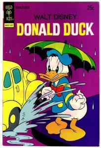 DONALD DUCK 157 VG-F July 1974